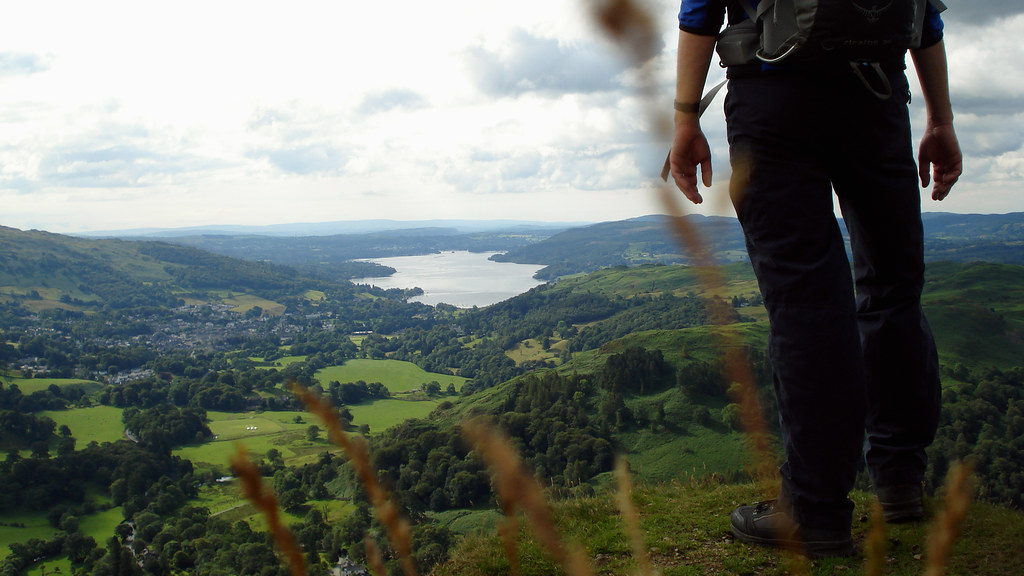 Walk the Fairfield Horseshoe and take in the views over Lake Windermere