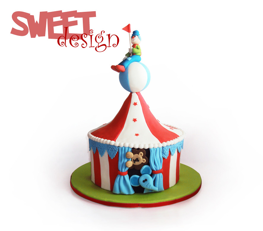 ... Bolo Circo / Circus tent cake | by sweet_design  sc 1 st  Flickr & Bolo Circo / Circus tent cake | www.sweetdesign-pt.blogspot.u2026 | Flickr