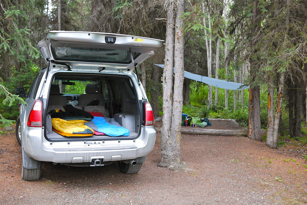4runner Camping We Ve Decided To Take A Road Trip Each
