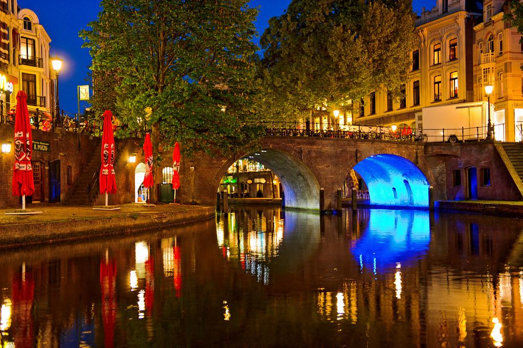 Nice colors of Utrecht's night