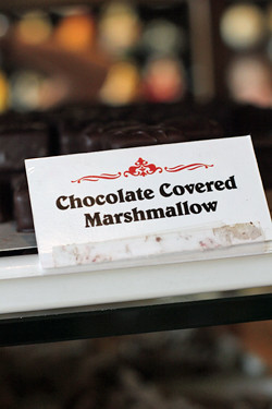 chocolate covered marshmallows | by David Lebovitz