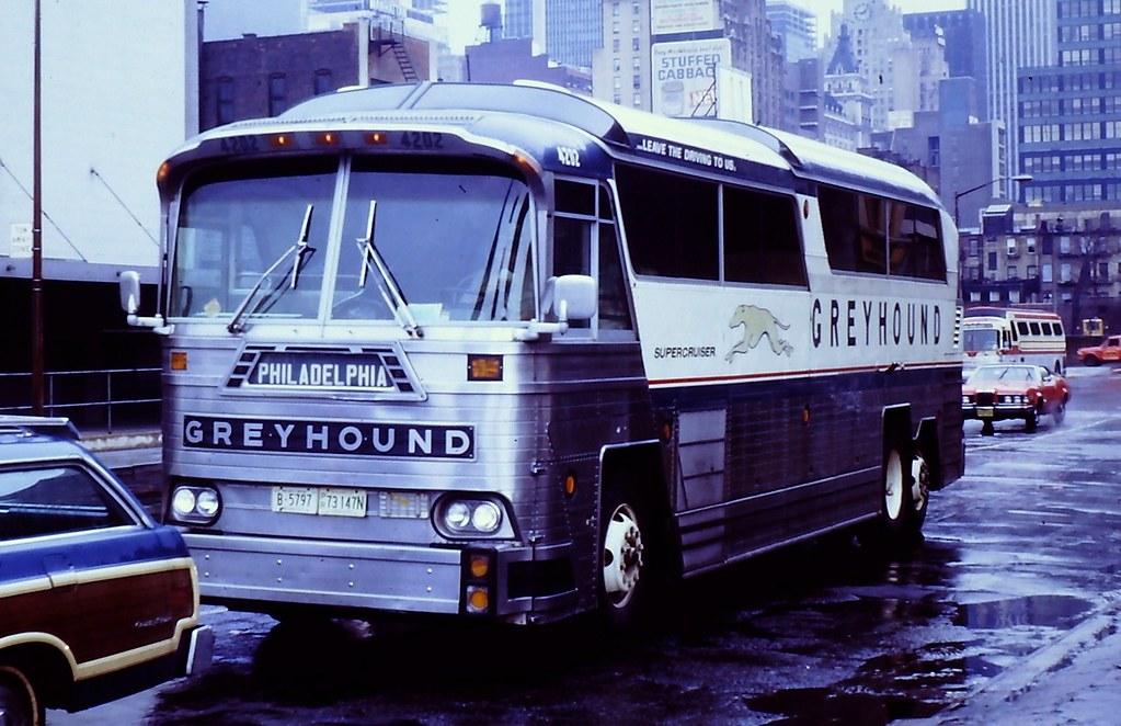Greyhound Bus 4202 Mci Mc 6 Taken At Philadedlphia Pa