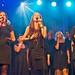 Kine og Garness-tvillingene i Oslo Gospel Choir