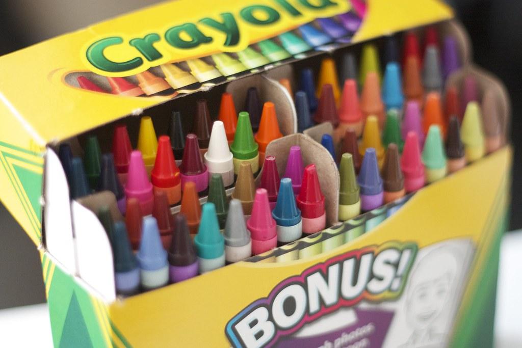 64 Pack of Crayola Crayons | Scott Mindeaux | Flickr