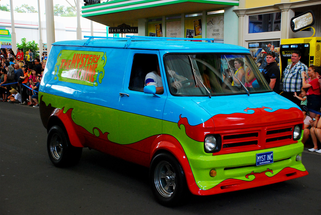 The Mystery Machine Norman Z Flickr