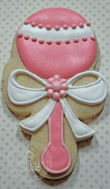 pnk baby rattle cookie   artfullysweet   Flickr