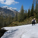 Kanitha crossing the late May snow