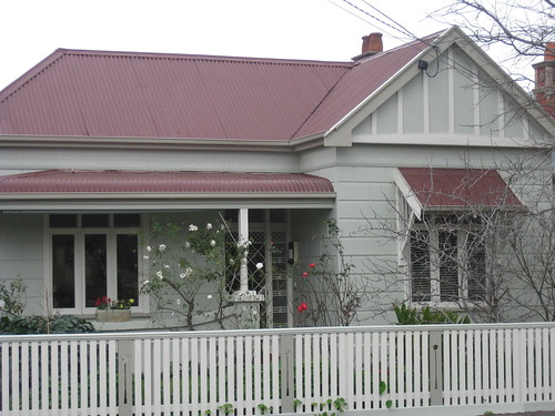 An early Federation Block Fronted Villa in Moonee Ponds