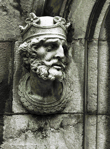 Stone Head in Dublin | by rosewoodoil