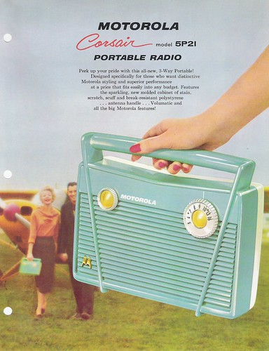 MOTOROLA Portable Radio Model 5P21 Portfolio (USA 1958)_06 | by MarkAmsterdam