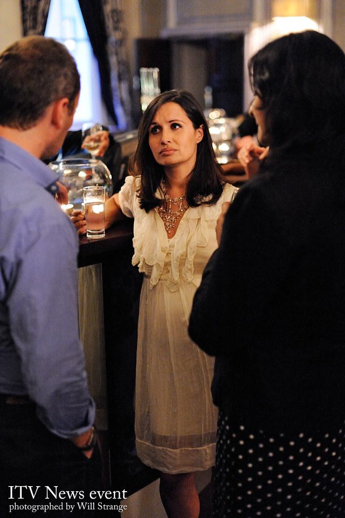 Nina Hossain At An ITV News Party