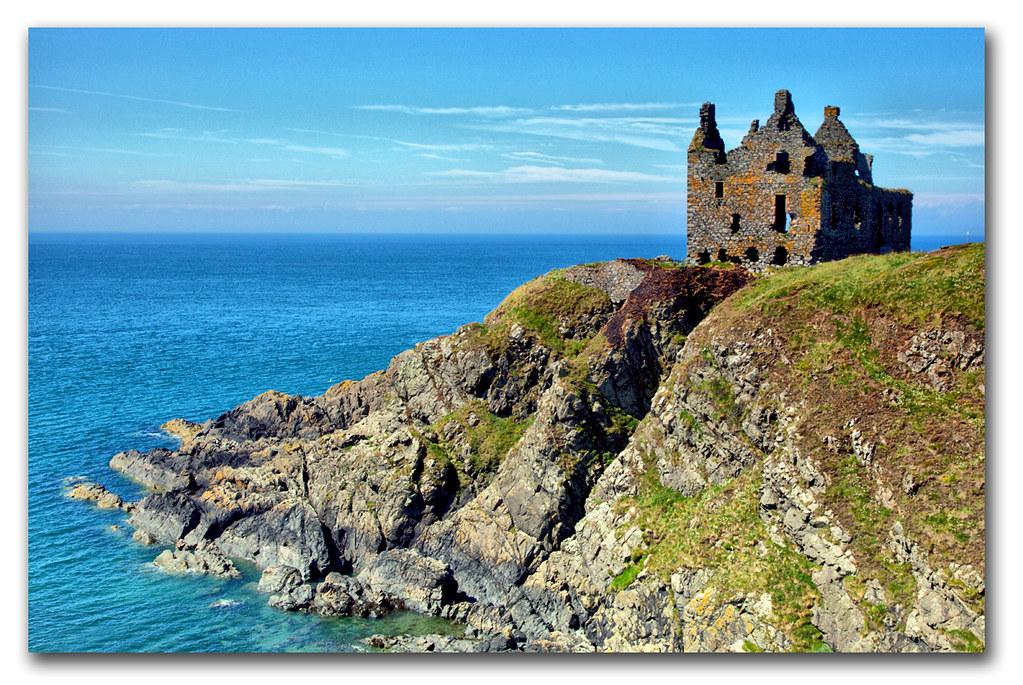 dunskey castle  port patrick