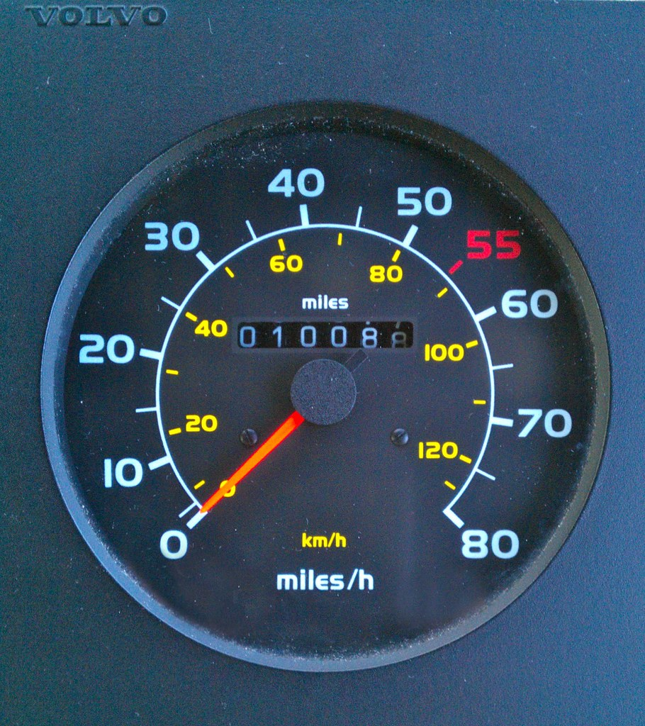 Volvo Speedometer 1 | A Speedometer with no Tachograph as fi… | Flickr