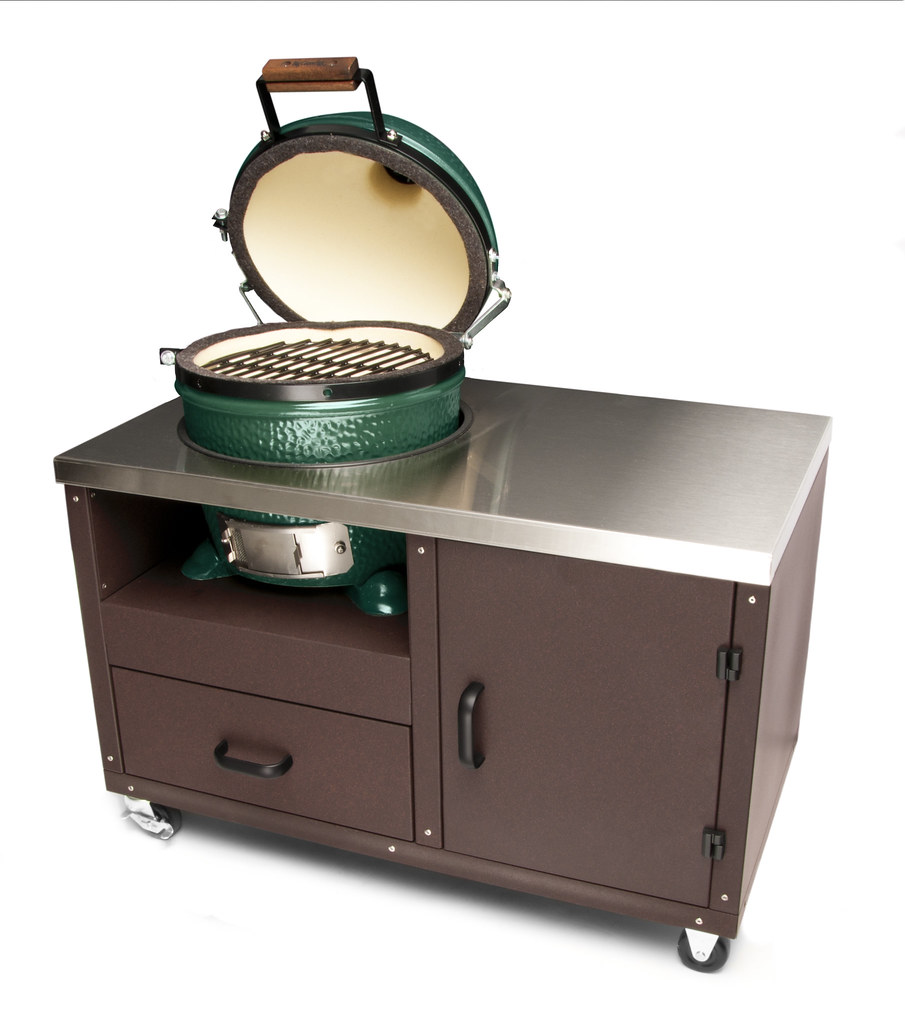 big green egg mini table 2 this is a fully functional. Black Bedroom Furniture Sets. Home Design Ideas