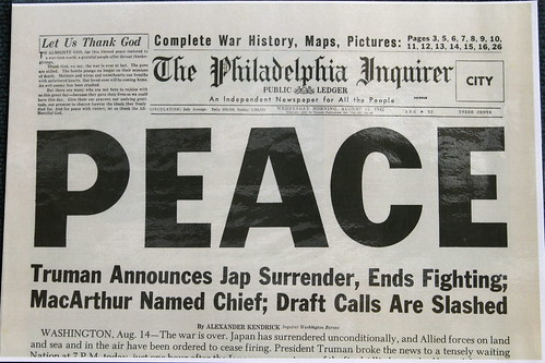 "Philadelphia Inquirer ""Peace"" 