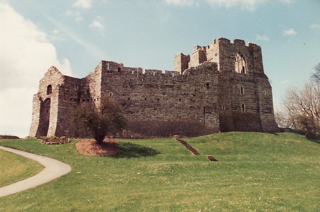 Oystermouth Castle, Swansea. | Flickr - Photo Sharing!
