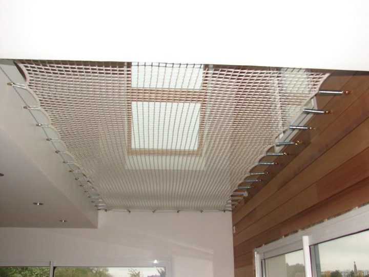 trampoline pour couvrir un vide sur s jour cette toile pou flickr. Black Bedroom Furniture Sets. Home Design Ideas