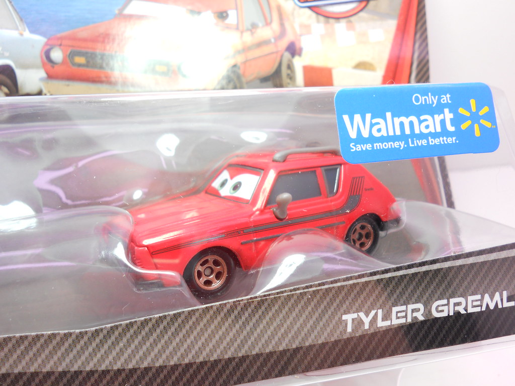 Disney Cars 2 Wal Mart Exclusive Professor Z Tyler Gremlin