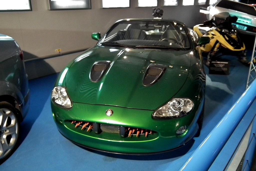2002 Jaguar XKR - James Bond   2002 Jaguar XKR. Used in ...