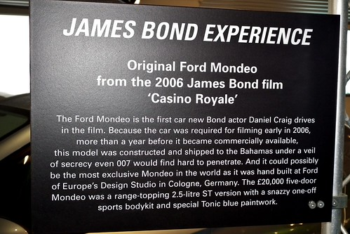 Ford Car Used In Casino Royale