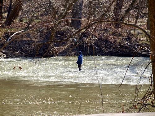 Steelhead fishing in the rocky river rocky river for Rocky river fishing