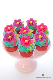 Flower Power! | by Little Cottage Cupcakes