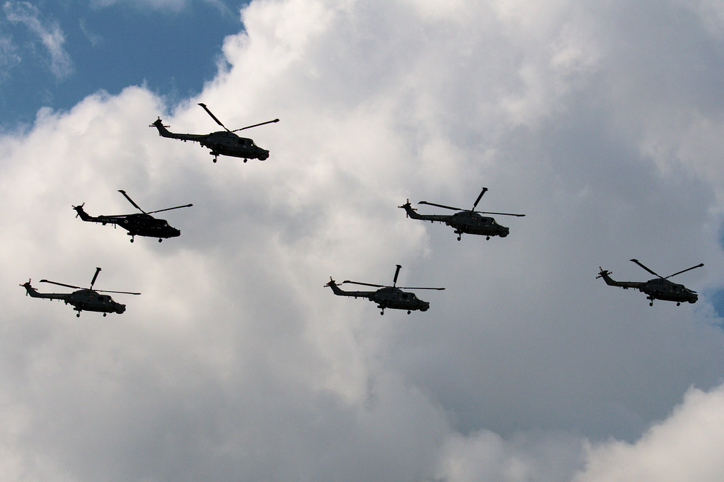 Lynx helicopters
