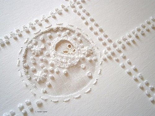 cutwork on paper | by contemporary embroidery