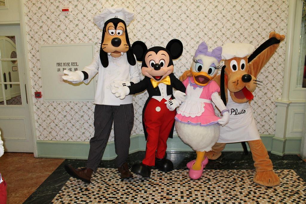 Mickey Mouse Goofy Birthday Cake