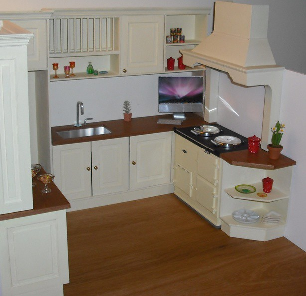 1 6 Playscale Kitchen In Classic Style This Kitchen