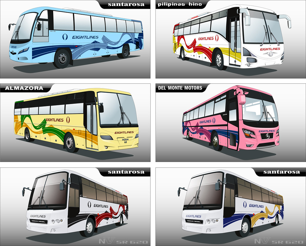 Bus Livery Scheme Another Abstract Bus Livery Paint