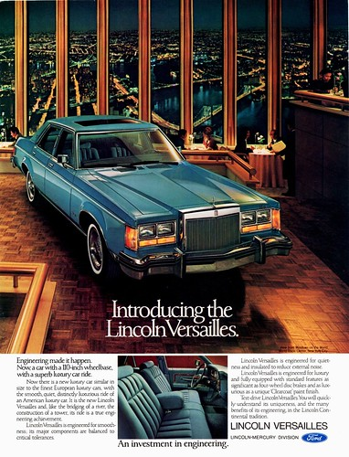 1977 Lincoln Versailles | by aldenjewell