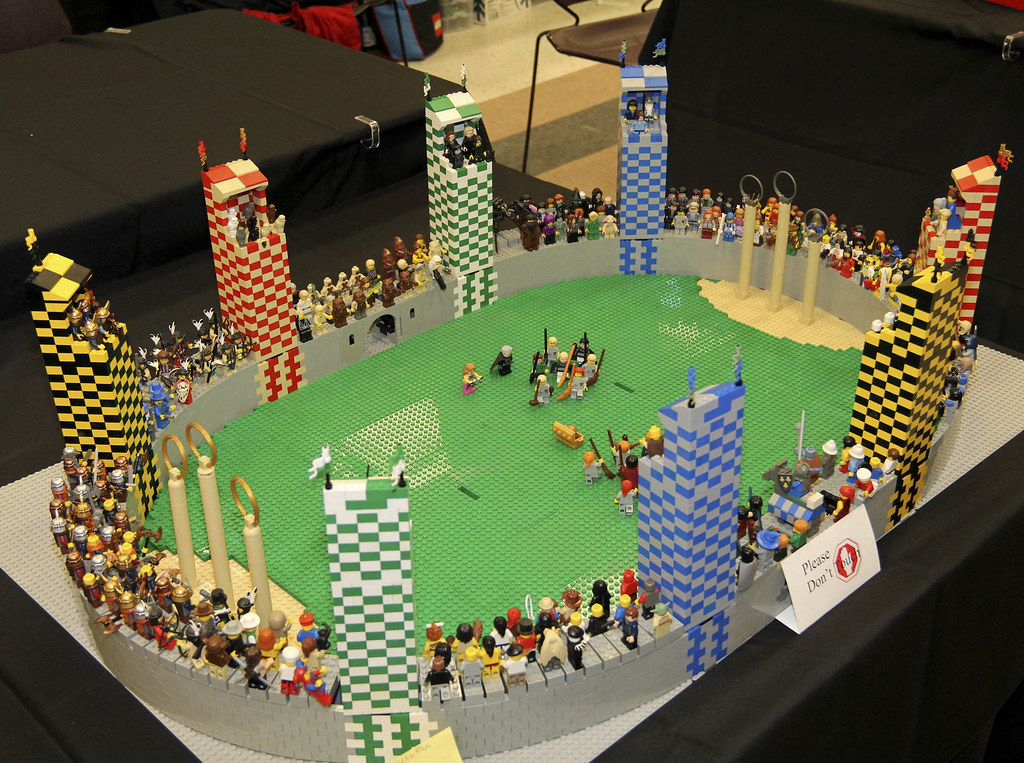 lego harry potter quidditch instructions