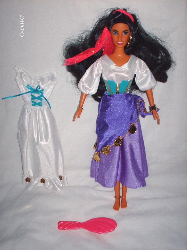 Ic Free Shipping >> 1995 Mattel Gypsy Esmeralda doll | Mattel's 1995 doll of ...