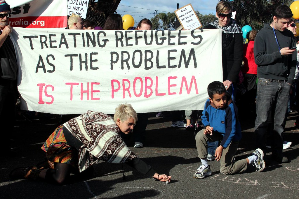 mandotory detention of children refugees in A look at what mandatory detention in australia in 2013 entails mandatory detention is the practice of compulsorily detaining or imprisoning people.