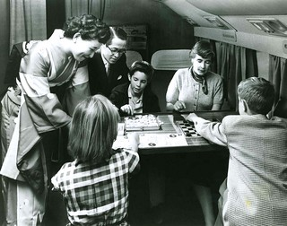 JAPAN AIR LINES -- Wow ! A First Class Family Game Room High Above the Pacific | by Okinawa Soba (Rob)