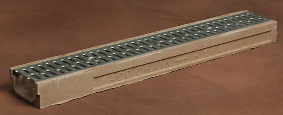 9832 Smith Aco Trench Drain Series The 9832 Shallow