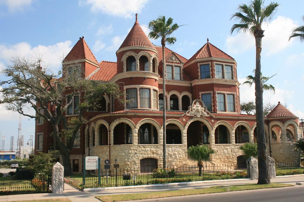 Moody Mansion Galveston Almost Postcard Perfect J R