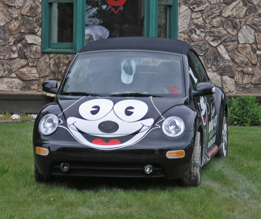 felix the cat car ital photo grl flickr. Black Bedroom Furniture Sets. Home Design Ideas