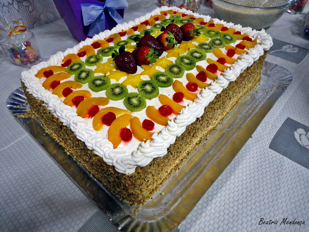 Cake With Fruit In It