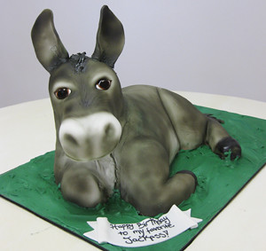 Sculpted Donkey Cake By Oakleaf Cakes