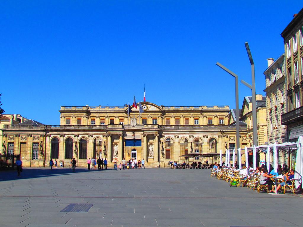 H tel de ville palais rohan bordeaux dan flickr for Hotel piscine bordeaux