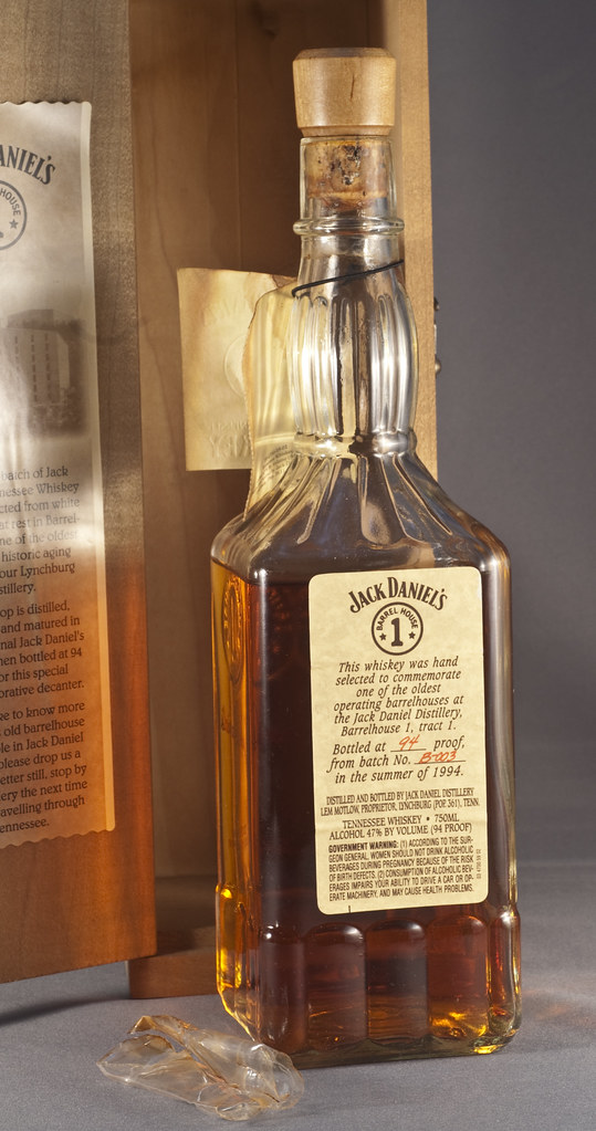 Jack Daniel S Collector Bottle That The Tsa Opened Barrel