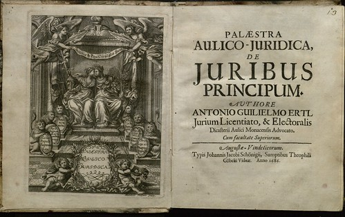 Palaestra aulico-juridica 1686 | by Yale Law Library