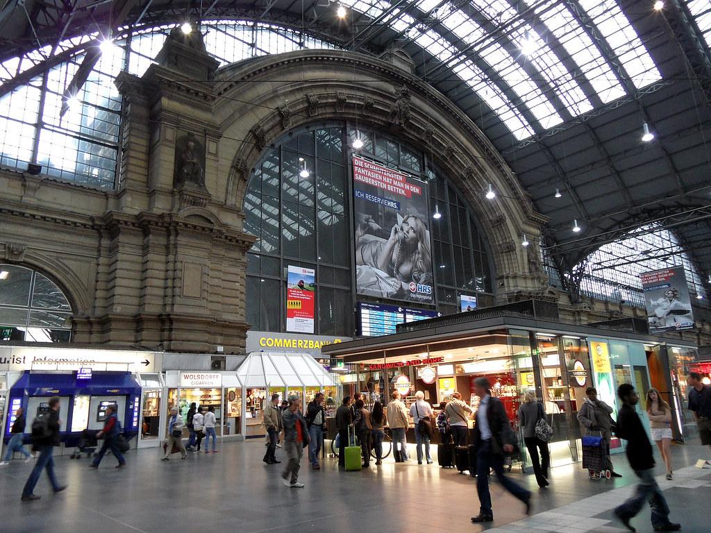 Gepäckaufbewahrung Frankfurt Hbf