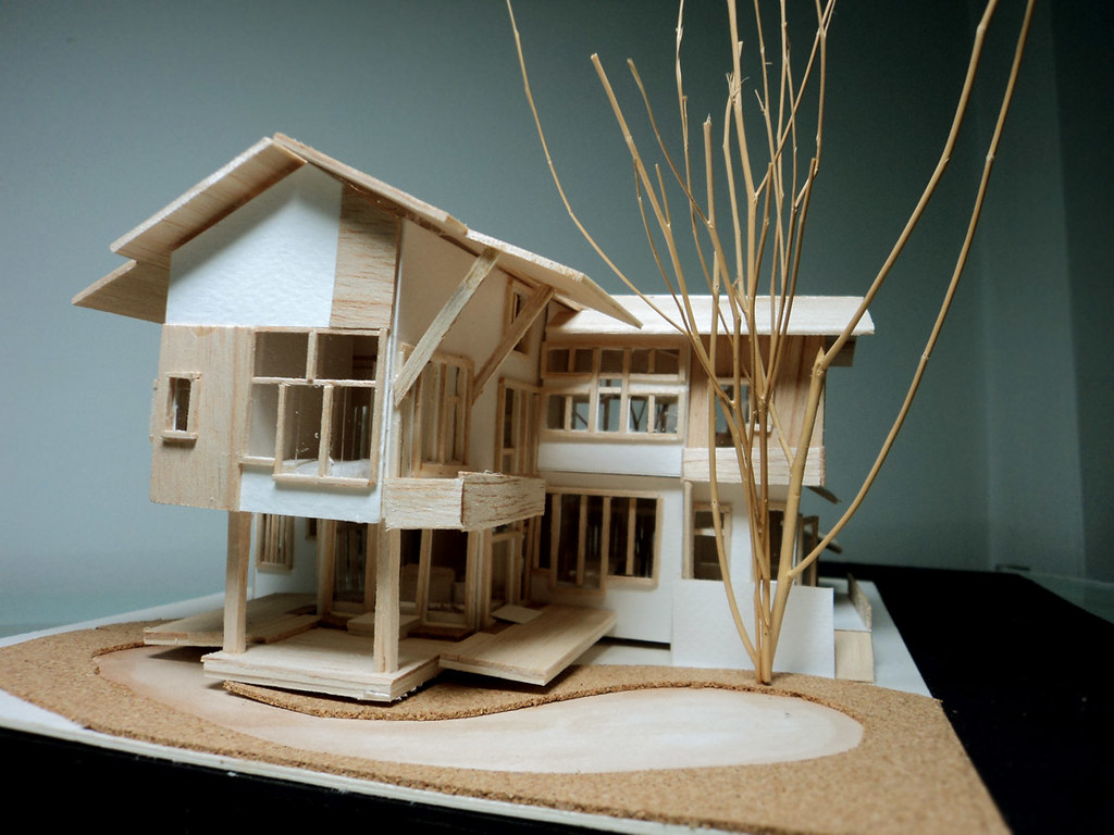 House model 1 100 2 story house project artit markshom for 100 story home