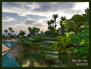 Rice Growing Mountain Tables - Bali sim 1 - Spoton3d | by Thus Yootz *THANK U ♥♥♥ 4 yr FVS & awards*