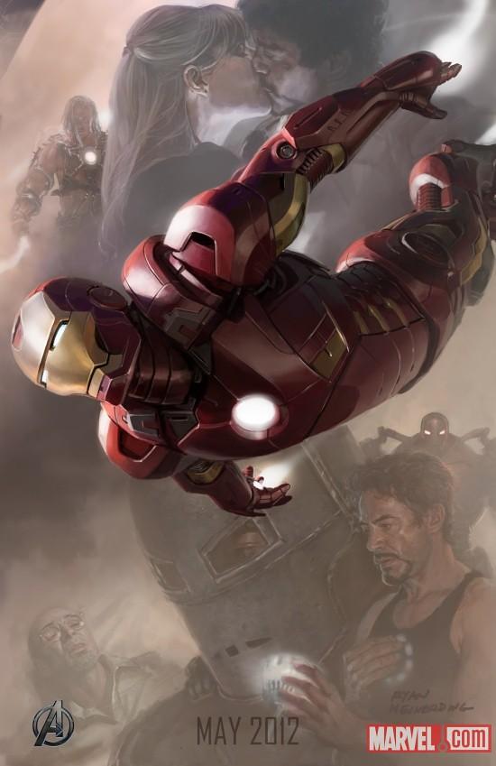 120512 - 你以為電影《復仇者聯盟》6位英雄的出場機會均等嗎?【Vulture】公佈碼表計時的趣味(無情)排行榜!
