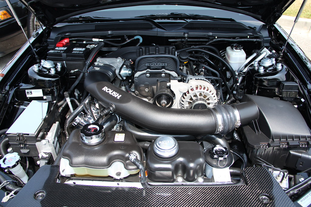 Roush Stage 3 >> AWESOME Roush Stage 3 Mustang engine | Effortlessly uploaded… | Flickr