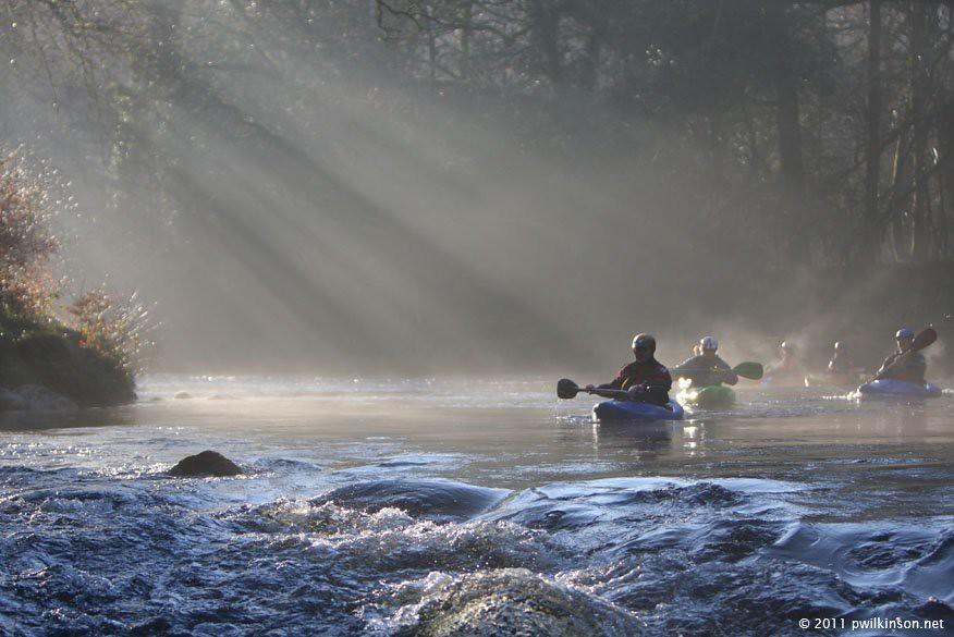 Dartmoor Winter Paddling